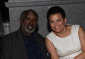 Clarence Avant and Debra Lee attend BET Honors 2013 Debra Lee PreDinner at The Library of Congress on January 11 2013 in Washington DC