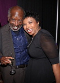 Clarence Avant and Marva Smalls attend the 2013 Debra Lee Pre BET Honors Cocktails Dinner at The Library of Congress on January 11 2013 in Washington...