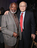 Clarence Avant and Norman Lear attend UCLA IOES celebration of the Champions of our Planet's Future on March 24 2016 in Beverly Hills California