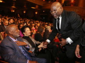 Clarence Avant and TD Jakes attend BET Honors 2013 at Warner Theatre on January 12 2013 in Washington DC