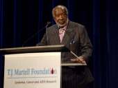 Clarence Avant at the TJ Martell Foundation's 31st Annual Awards gala at the Marriott Marquis in New York City