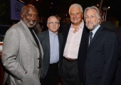 Clarence Avant Irving Azoff Sony/ATV's Martin Bandier and President/CEO of The Recording Academy Neil Portnow attend the 1st Annual Billboard Power...