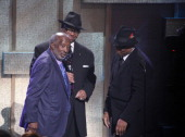 Clarence Avant Jimmy Jam and Terry Lewis attend BET Honors 2013 at Warner Theatre on January 12 2013 in Washington DC