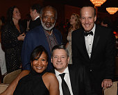 Clarence Avant Nicole Avant and head of content acquisition for Netflix Ted Sarandos attend the 2016 PreGRAMMY Gala and Salute to Industry Icons...