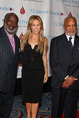 Clarence Avant Sheryl Crow and Berry Gordy during TJ Martell Foundation's 31st Annual Gala Red Carpet Arrivals and Show at Marriott Marquis at 1535...