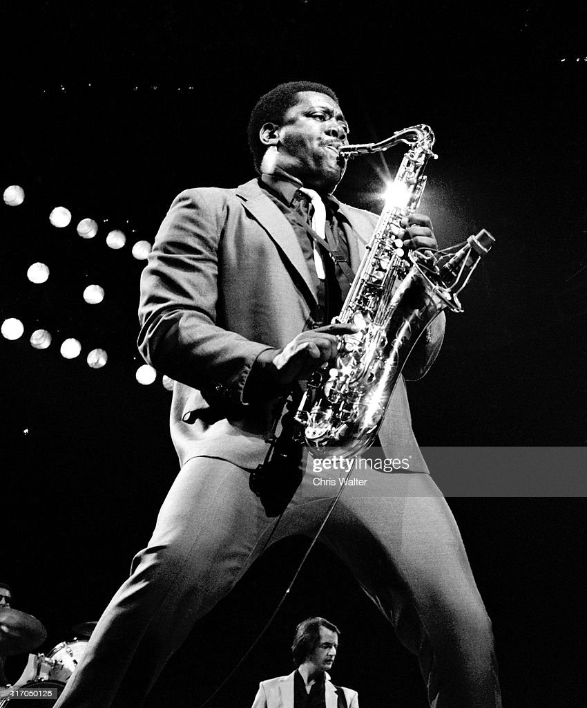 <a gi-track='captionPersonalityLinkClicked' href=/galleries/search?phrase=Clarence+Clemons&family=editorial&specificpeople=558760 ng-click='$event.stopPropagation()'>Clarence Clemons</a> performs onstage with <a gi-track='captionPersonalityLinkClicked' href=/galleries/search?phrase=E+Street+Band&family=editorial&specificpeople=2767945 ng-click='$event.stopPropagation()'>E Street Band</a> circa 1981in Los Angeles, California.