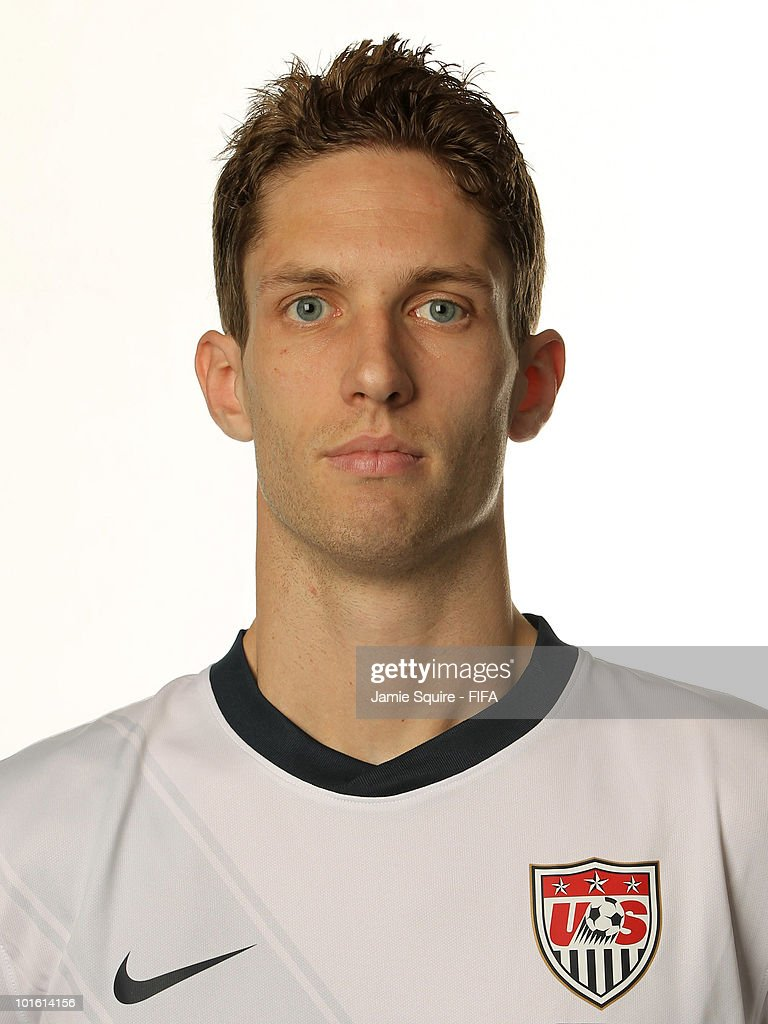 Clarence Goodson of USA poses during the official FIFA World Cup 2010 portrait session on June 3 2010 in Centurion South Africa
