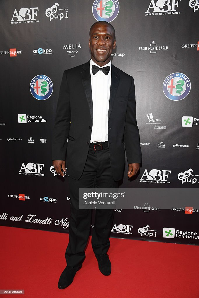 <a gi-track='captionPersonalityLinkClicked' href=/galleries/search?phrase=Clarence+Seedorf&family=editorial&specificpeople=208215 ng-click='$event.stopPropagation()'>Clarence Seedorf</a> walks the red carpet of Bocelli and Zanetti Night on May 25, 2016 in Rho, Italy.