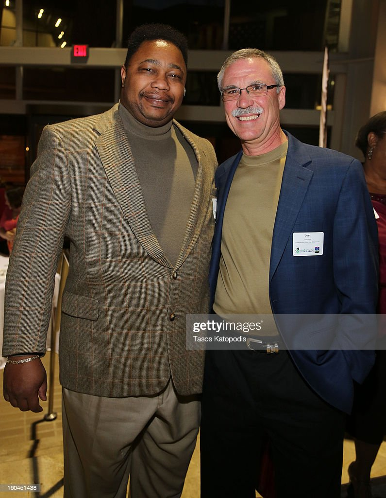 Clarence Wilson and Joel Hamberg attends the 18th Annual Rebuilding Together Kickoff To Rebuild Reception at the WWII Museum on January 31, 2013 in New Orleans, Louisiana.
