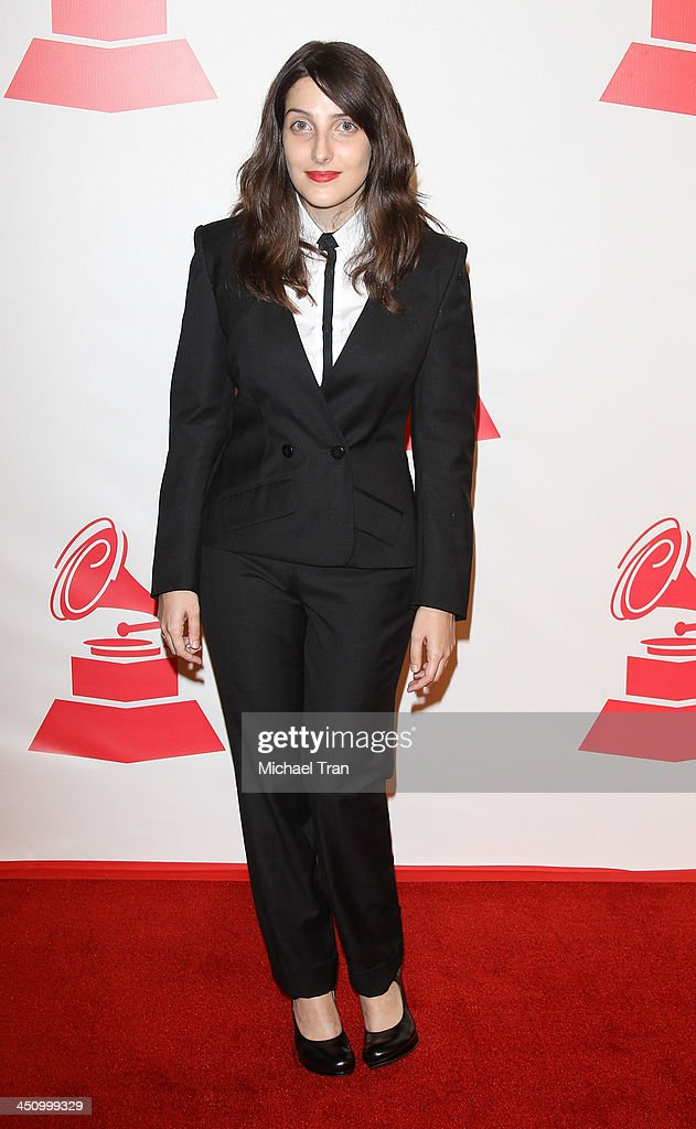 Clarice Falco arrives at the 2013 Latin Recording Academy Person of the Year honoring Miguel Bose held at Mandalay Bay Resort and Casino on November 20, 2013 in Las Vegas, Nevada.