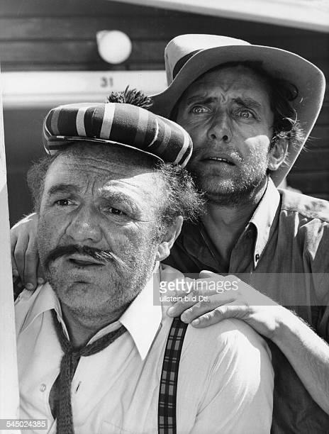 Clarin Hans *Schauspieler Synchronsprecher D mit Paul Esser in dem Film 'Pippi Langstrumpf' 1969