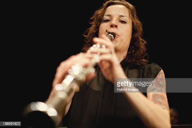 Clarinette Joueur d'orchestre