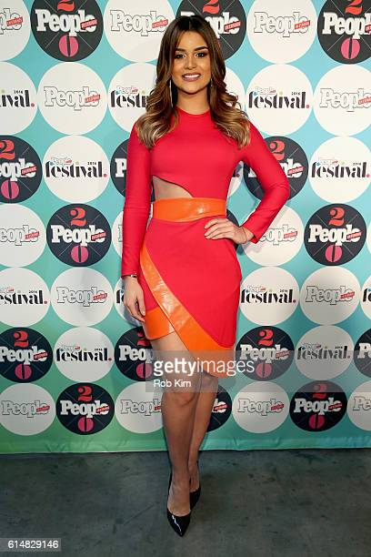 Clarissa Molina attends the 5th Annual Festival PEOPLE En Espanol Day 1 at the Jacob Javitz Center on October 15 2016 in New York City