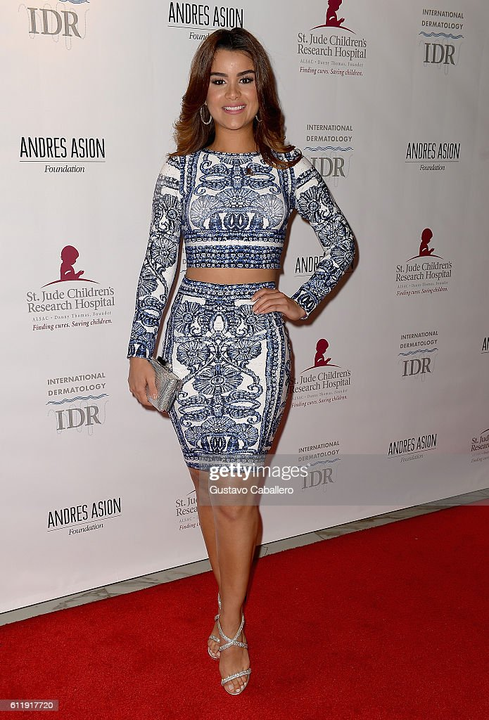 Clarissa Molina attends the 9th Annual International Dermatology 'It's All About the Kids' Benefit at JW Marriott Marquis on October 1, 2016 in Miami, Florida.