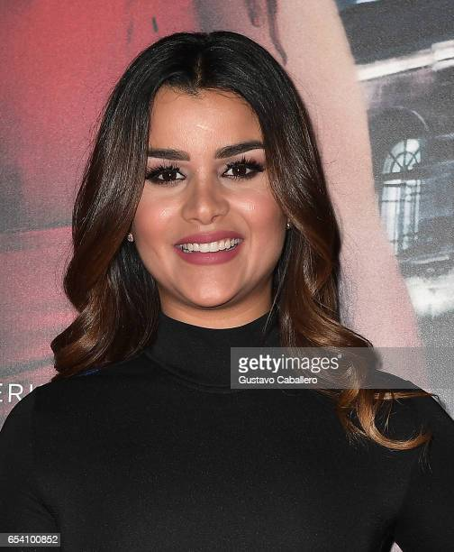 Clarissa Molina attends the Premiere Of Netflix's 'Ingobernable' Arrivals at Colony Theater on March 15 2017 in Miami Beach Florida