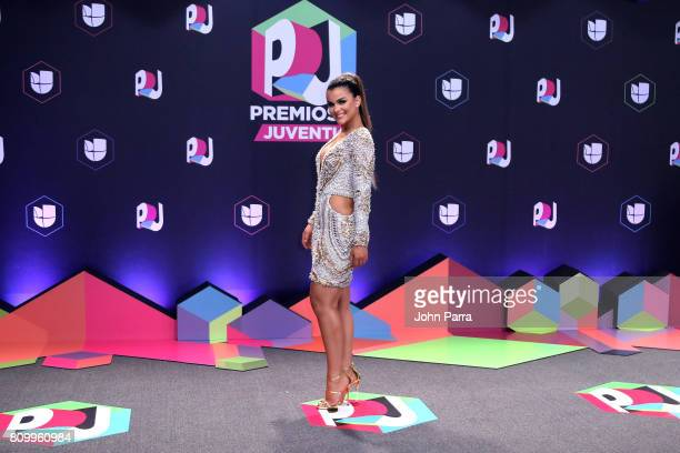 Clarissa Molina attends the Univision's 'Premios Juventud' 2017 Celebrates The Hottest Musical Artists And Young Latinos ChangeMakers at the Watsco...