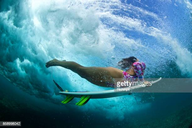 Clarity underwater surfer