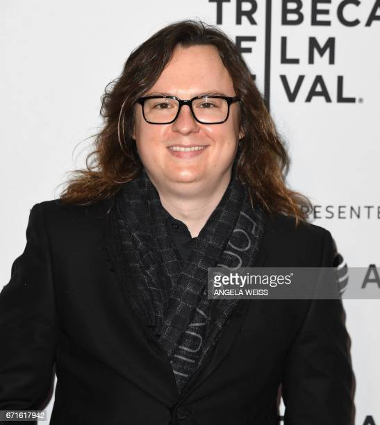 Clark Duke attends the 'Dog Years' premiere during 2017 Tribeca Film Festival at Cinepolis Chelsea on April 22 2017 in New York City / AFP PHOTO /...