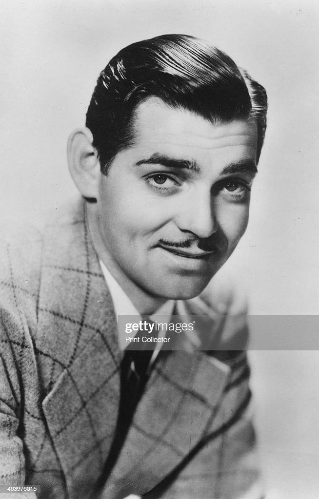 Clark Gable (1901-1960), American actor, c1930s.