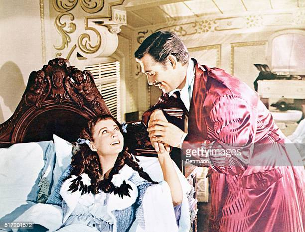 Clark Gable and Vivien Leigh in David O Selznick's Gone With the Wind Released by MetroGoldwynMayer