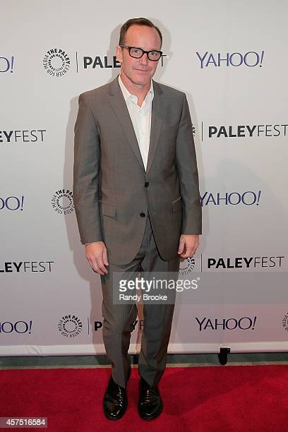 Clark Gregg attends the 2nd annual Paleyfest New York Presents 'Marvel Agents Of SHIELD' at Paley Center For Media on October 19 2014 in New York New...