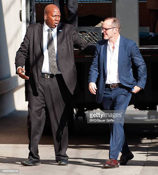 Clark Gregg is seen at 'Jimmy Kimmel Live' on September 29 2014 in Los Angeles California