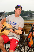 Clark Manson performs at Percy Priest Lake on July 22 2016 in Nashville Tennessee