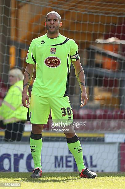 Clarke Carlisle of Northampton Town in action during the npower League Two match between Bradford City and Northampton Town at The Coral Windows...