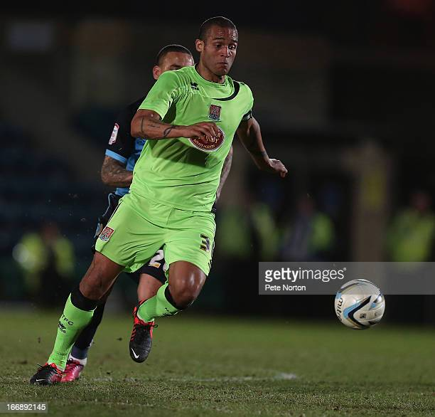 Clarke Carlisle of Northampton Town in action during the npower League Two match between Wycombe Wanderers and Northampton Town at Adams Park on...