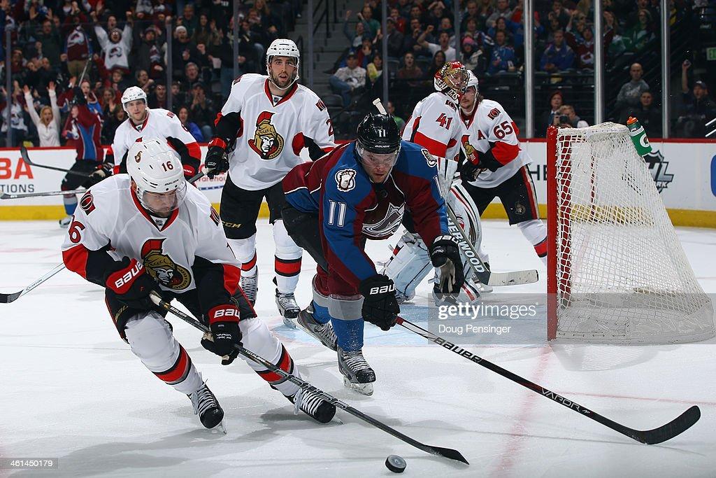 Ottawa Senators v Colorado Avalanche