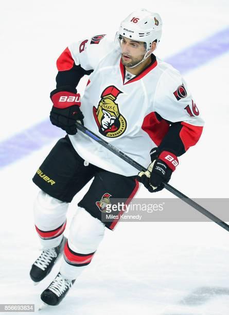 Clarke MacArthur of the Ottawa Senators plays in a game against the Philadelphia Flyers at Wells Fargo Center on January 6 2015 in Philadelphia...