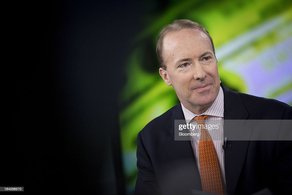 Clarke Murphy, president and chief executive officer of Russell Reynolds Associates Inc., speaks during an interview in New York, U.S., on Tuesday, March 19, 2013. Russell Reynolds Associates is an executive search firm in New York. Photographer: Scott Eells/Bloomberg via Getty Images