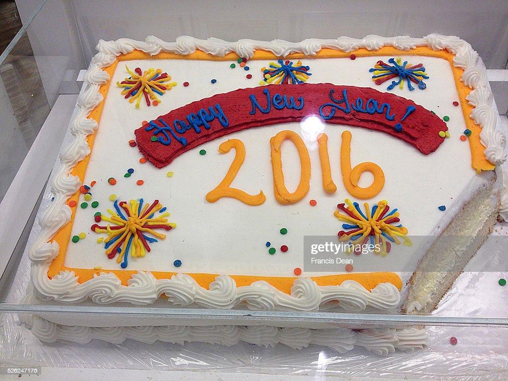Clarkston/washington State /USA_ 28 December 2015 _ Costco made cake 2016