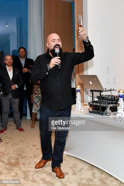 Clase Azul founder/owner Arturo Lomeli attends the 20th Anniversary Celebration of Clase Azul Tequila at Public hotel on June 15 2017 in New York City
