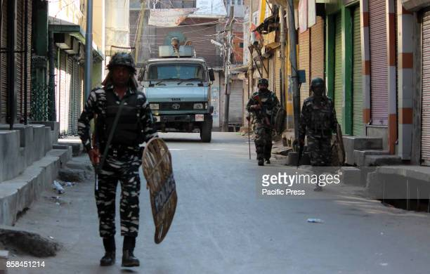 Clashes erupted after Friday prayers between security forces and Muslim protesters at Lal Chowk area of south Kashmirs Anantnag district some 50...