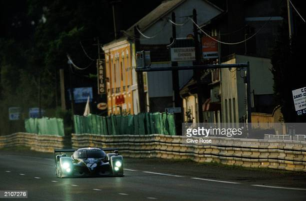 Class champions Team Bentley driven by Tom Kristensen of Denmark Rinaldo Capello of Italy and Guy Smith of Great Britain in action during the Le Mans...