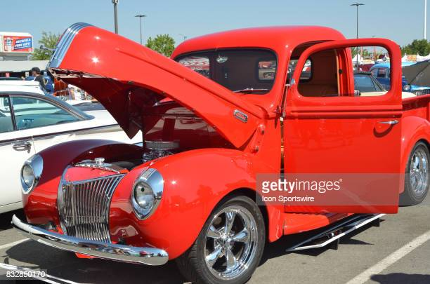 Classic 1940 Ford pickup on display at the Hot August Nights Custom Car Show the largest nostalgic car show in the world on August 11 2017 held at...