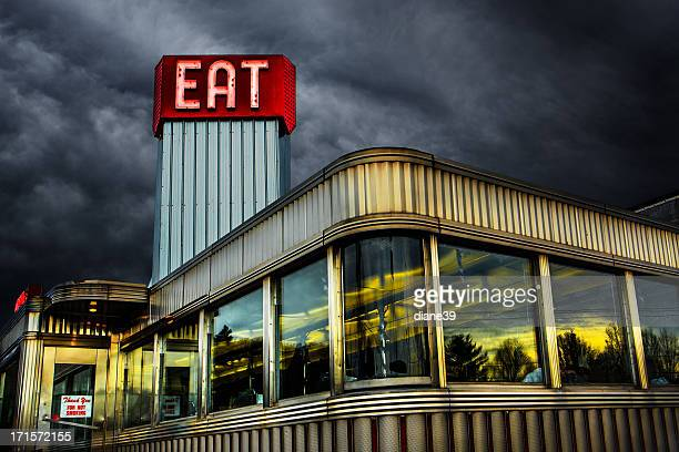 Diner stock photos and pictures getty images for American classic diner