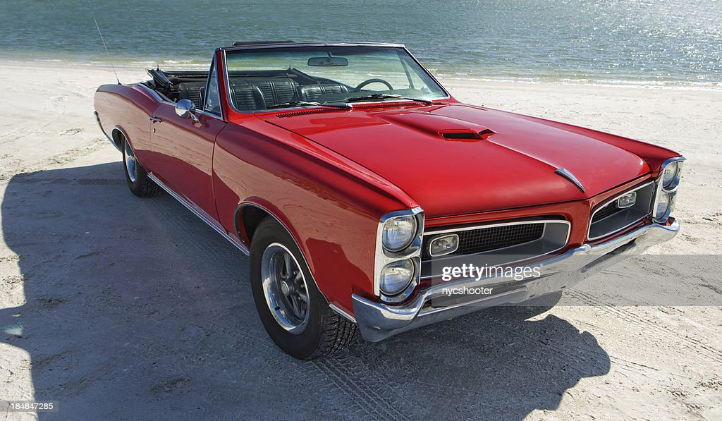 Classic American Muscle Car : Stock Photo