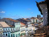 Classic and tourist street on Pelourinho