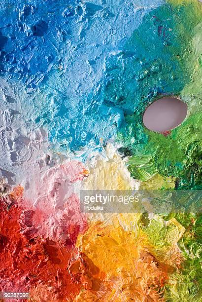 クラシックアートパレットに主な色