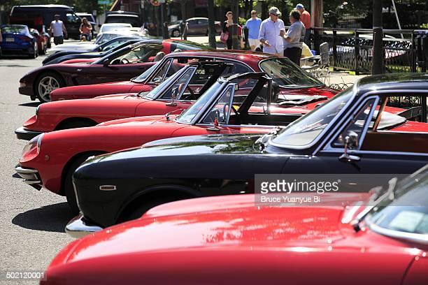 Classic automobile show