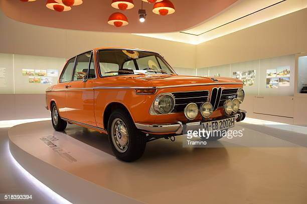 Classic BMW 2002 ti on the statical presentation.