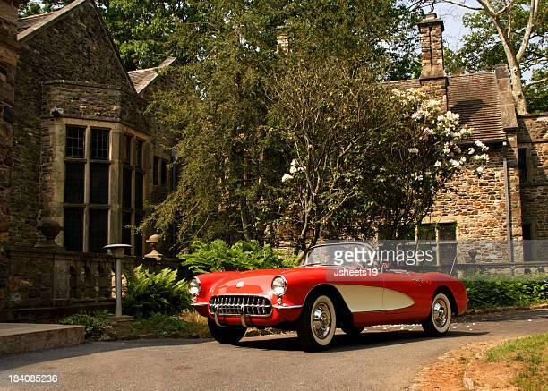Carro clássico & Casa de Pedra