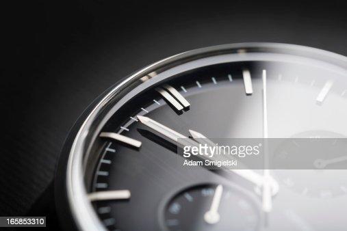 classic chronograph wristwatch