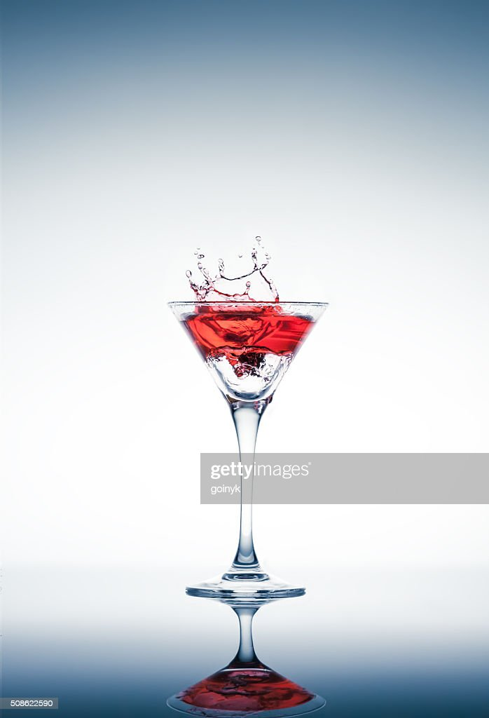 classic contemporary cocktail : Stock Photo