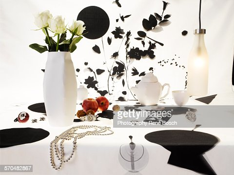 Classic dressed table