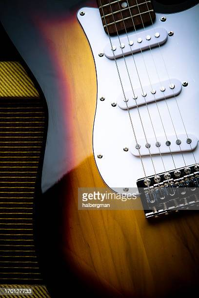 Classic Electric Guitar and Amp
