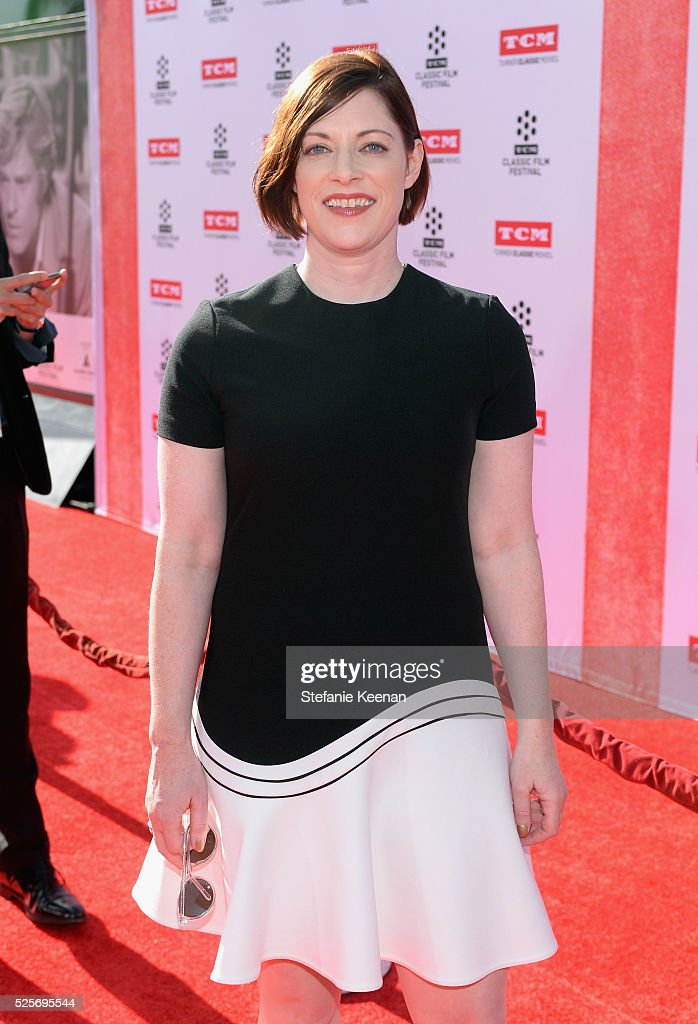 Classic Film Festival Director Genevieve McGillicuddy attends 'All The President's Premiere' during the TCM Classic Film Festival 2016 Opening Night on April 28, 2016 in Los Angeles, California. 25826_005