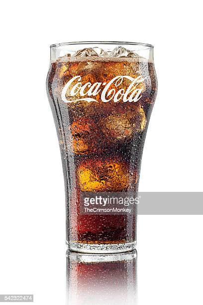 Classic Glass of Coca Cola